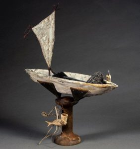 Carole Murphy Frogwood Collaboration Boat