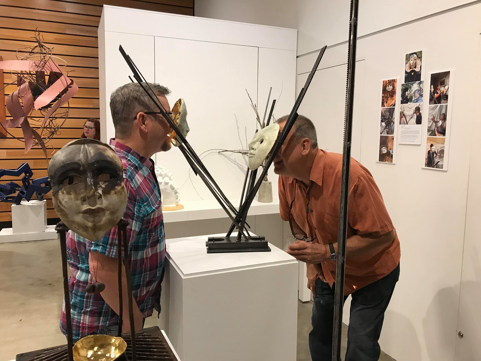 Unmatched Pairs Event - Multnomah Arts Center - Exhibit photo - 2