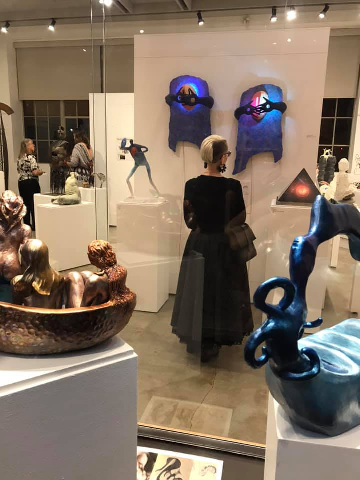 Unmatched Pairs Event - Multnomah Arts Center - Exhibit photo - 3