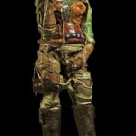 Ben Sams - Modern Ceramic Sculpture - Texas Ranger - Nov 2019 - PNWS