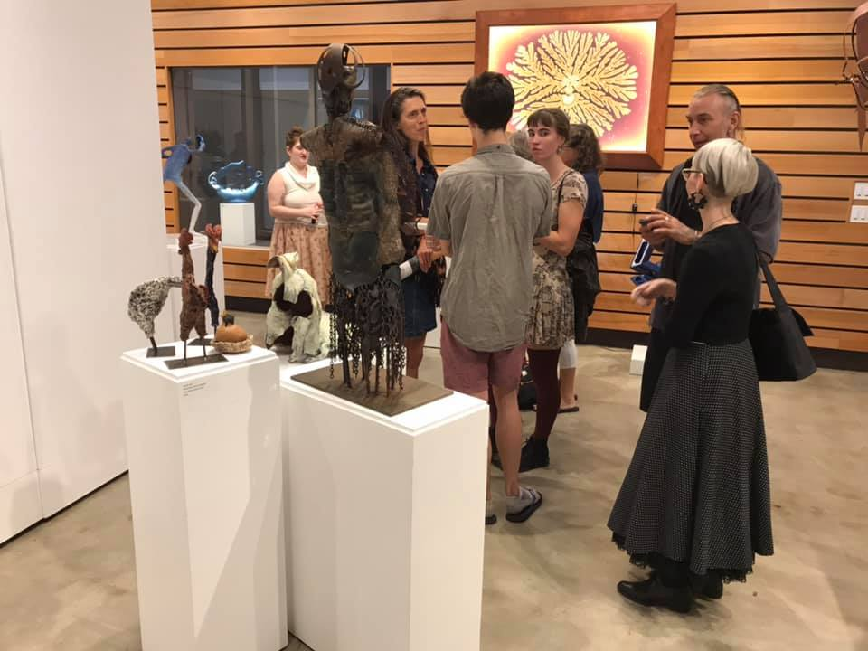 Unmatched Pairs Sculpture Show - Sept 2019 - gathering